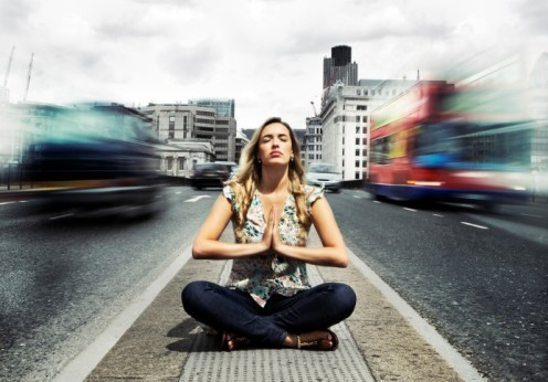 Meditation in Stress