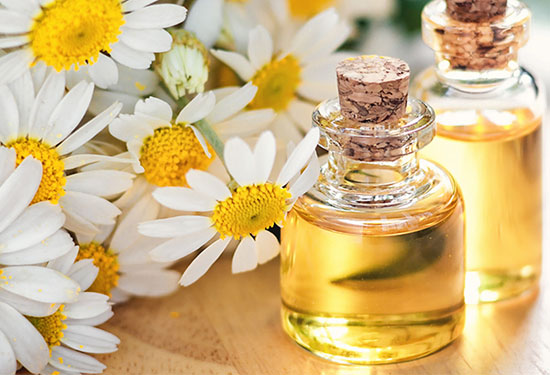 essential oils for nerve pain - German chamomile
