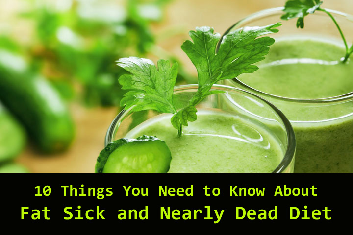 Fat Sick and Nearly Dead Diet