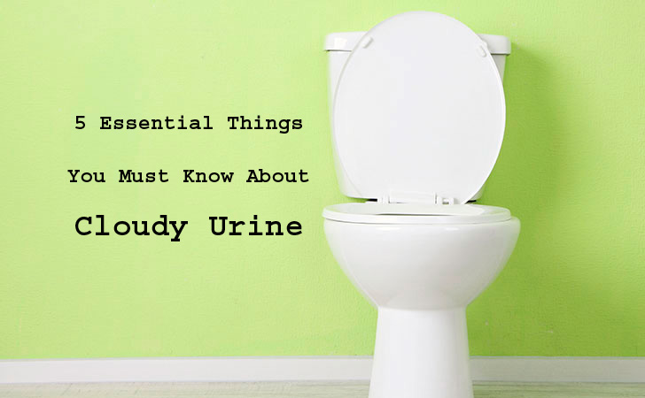 5 Essential Things You Must Know About Cloudy Urine
